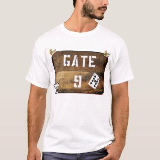 T-shirt de blanc de Gate9gear