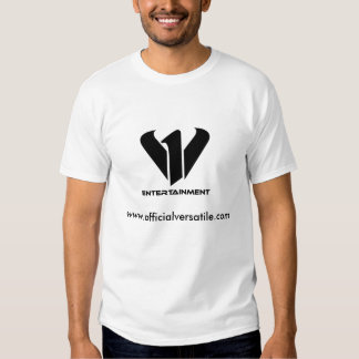 T-shirt de blanc de v1entertainment