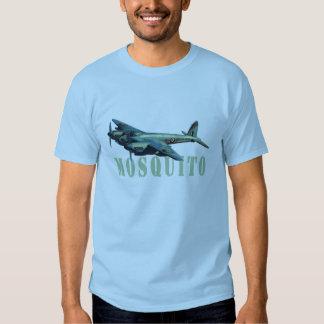 T-shirt de bleu de ciel de chasseur-bombardier de