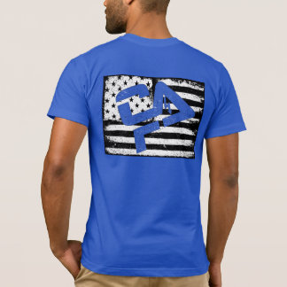 T-shirt de bleu de Murph