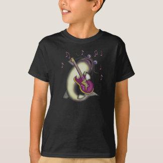 T-shirt de bleus de poisson-chat
