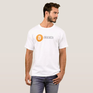 T-shirt de Blockchain Bitcoin