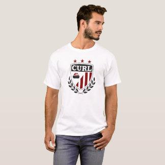 T-shirt de bordage de la crête des hommes