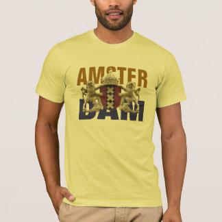 T-shirt de bouclier d'Amsterdam XXX