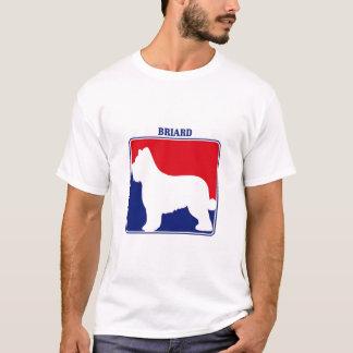 T-shirt de Briard de ligue
