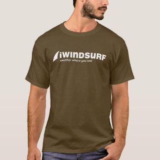 T-shirt de Brown des hommes d'iW