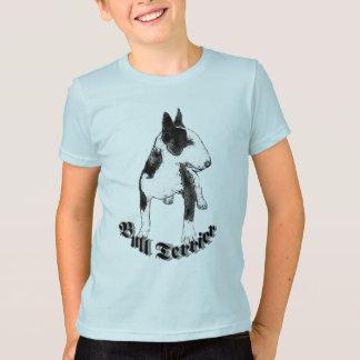 T-shirt de bull-terrier