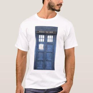 T-shirt de cabine téléphonique de police