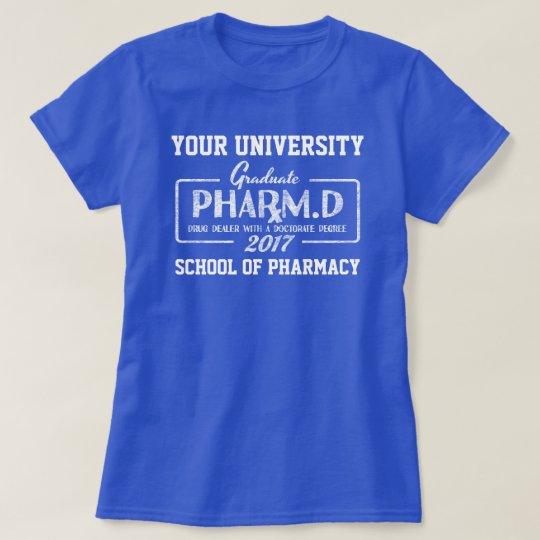 T-shirt de cadeau d'obtention du diplôme d'école