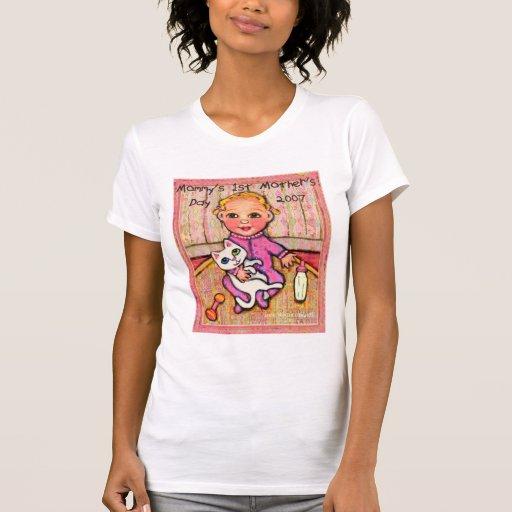 T-shirt de cadeau du jour de mère