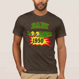 T-shirt de cadeaux d'anniversaire de baby boomer