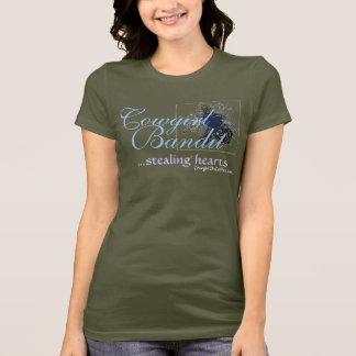 T-shirt de Camo de bandit de cow-girl