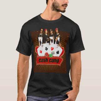 T-shirt de camp d'argent liquide
