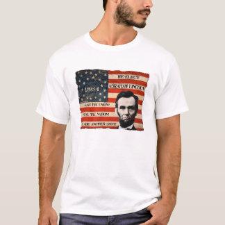 T-shirt de campagne d'Abraham Lincoln 1864