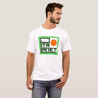 T-shirt de canalisation de planète de Pita