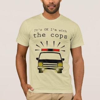 T-shirt de cannette de fil