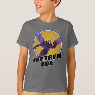 T-shirt de capitaine Joe d'enfants