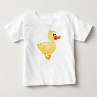 """T-shirt de caractère de canard de """"petit de bébé"""