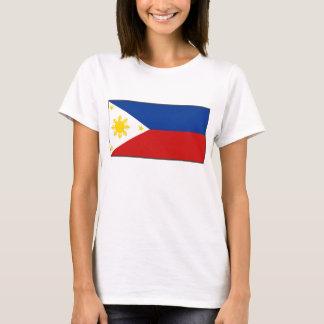 T-shirt de carte du drapeau X de Philippines