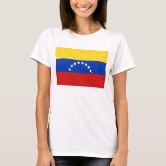 T-shirt de carte du drapeau X du Venezuela