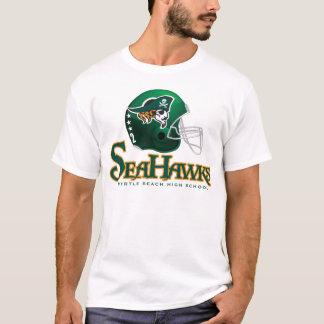 T-shirt de casque de football de Seahawks