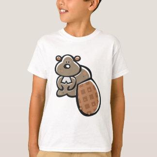 T-shirt de castor