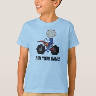 T-shirt de cavalier de vélo de saleté de garçon