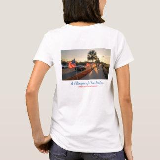 T-shirt de célébration de drapeau de Charleston --