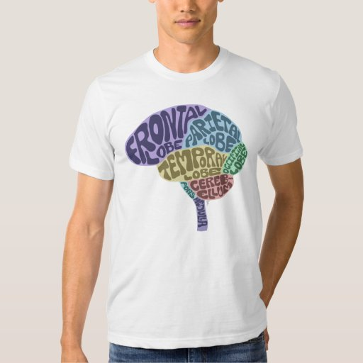 T-shirt de cerveau