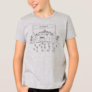 T-shirt de champignon du DJ