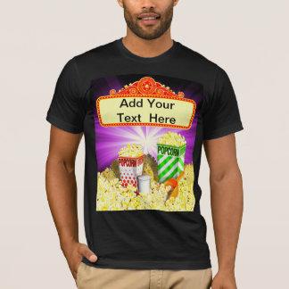 T-shirt de chapiteau de film d'amants de maïs