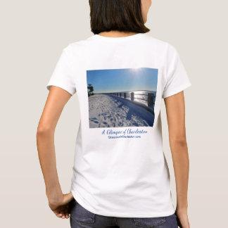 T-shirt de Charleston de ski -- Femmes