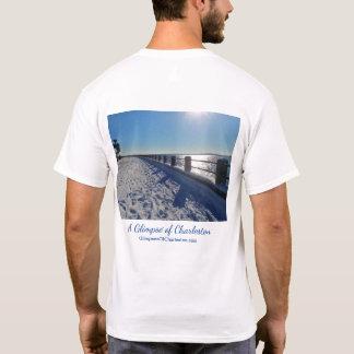 T-shirt de Charleston de ski -- Hommes