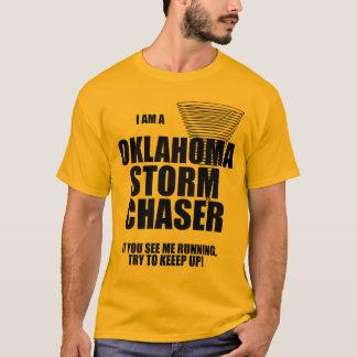 T-shirt de chasseur de tempête de tornade de