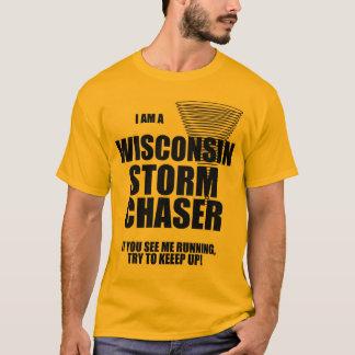T-shirt de chasseur de tempête de tornade du