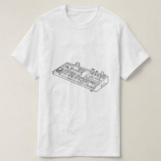 T-shirt de chat de clavier (synthétiseurs de