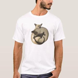 T-shirt de chats siamois de Yin Yang