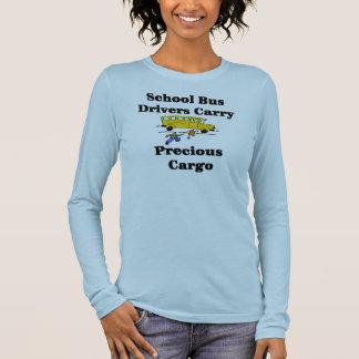 T-shirt de chauffeur d'autobus scolaire