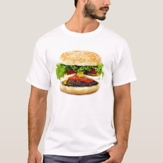 T-shirt de cheeseburger