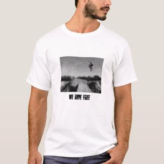 T-shirt de chemise de bmx