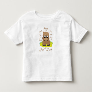 T-shirt de cheval