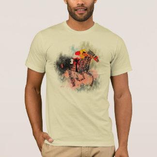 T-shirt de cheval de course de pur sang