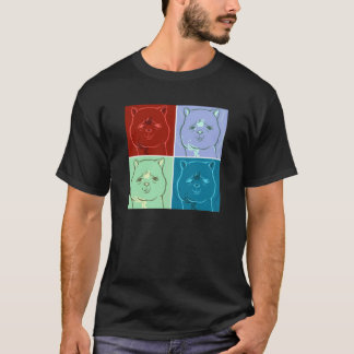 T-shirt de cheval de Herbe-Boue