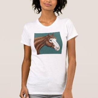 T-shirt de cheval de peinture d'Overo