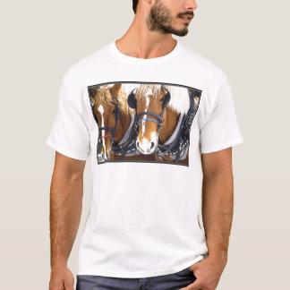 T-shirt de chevaux de trait de Clydesdale