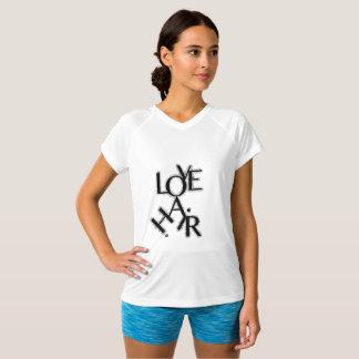 T-shirt de cheveux d'amour