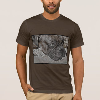 T-shirt de chien de boxeur