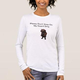 T-shirt de chien de garde du teckel de la femme