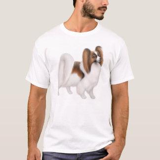 T-shirt de chien de Papillon
