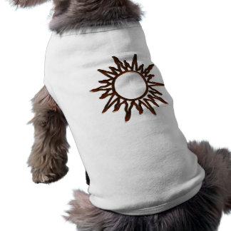 T-shirt de chien de villa de variété